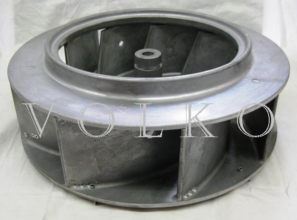 Enervex Centrifugal Impeller Angled Top View